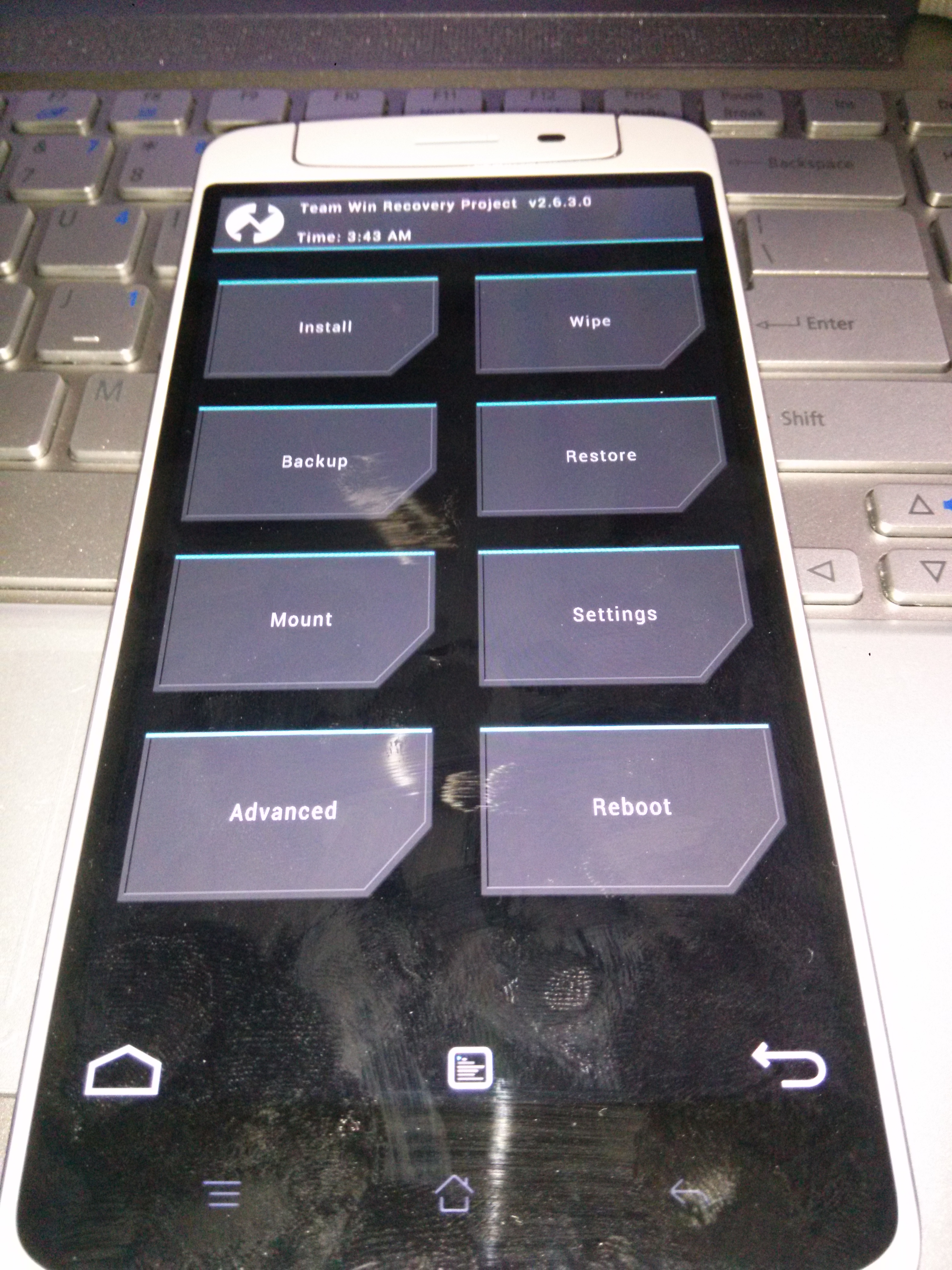 OPPO N1 TWRP Recovery