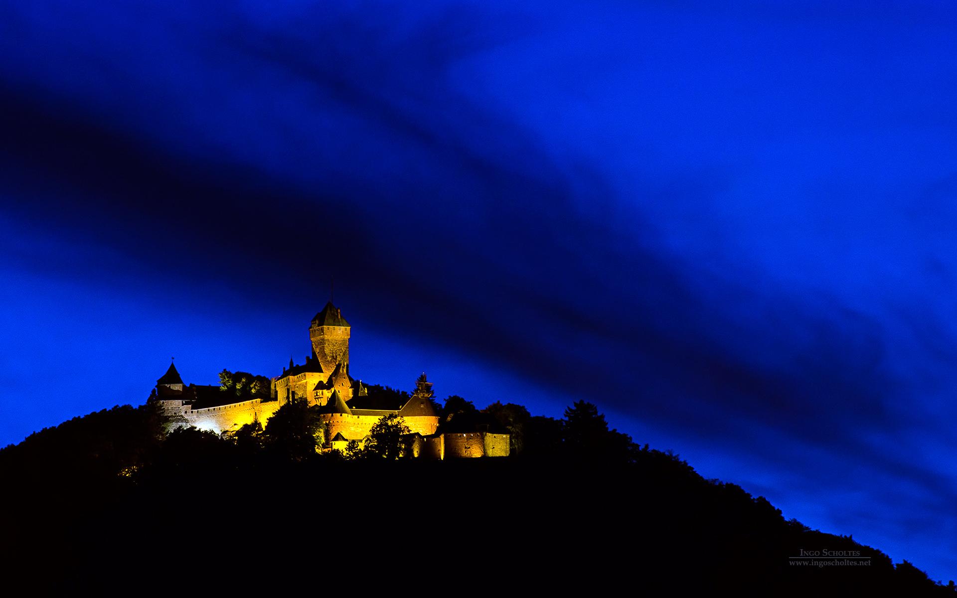 Château du Haut-K½nigsbourg, Alsace, France