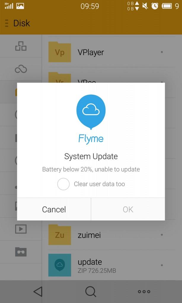 魅族 MX4刷官方固件教程,刷Flyme4.1.1A教程,MX4无法开机救砖教程
